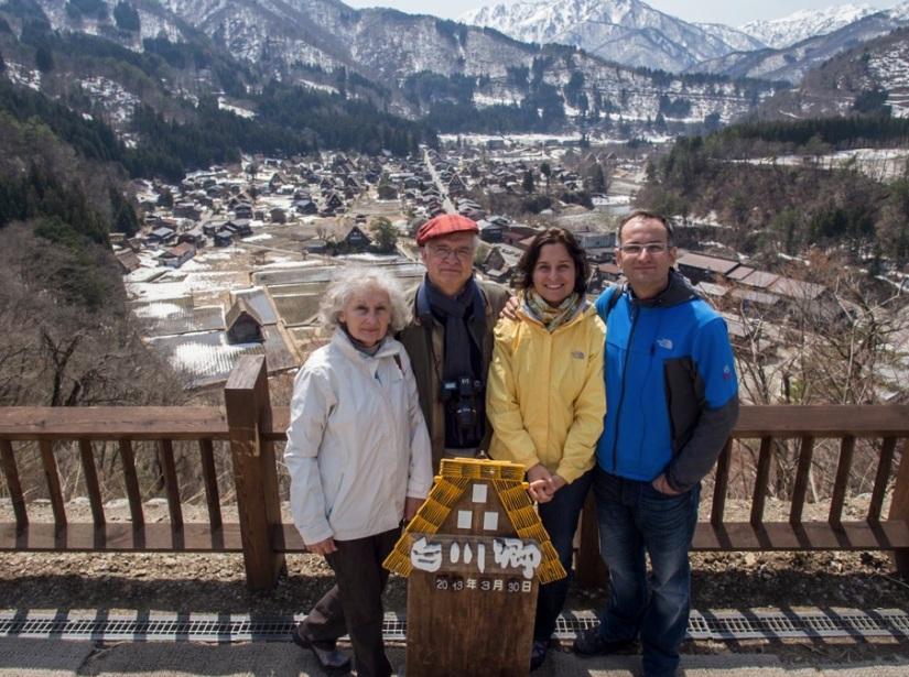 Shirakawa-go 2 Shiroyama Tenshukaku view point