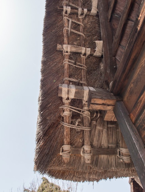 Shirakawa-go 9 Roof detail
