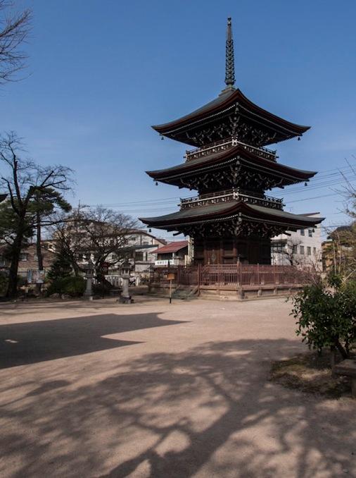 Takayama Hida Kokubunji Temple 4