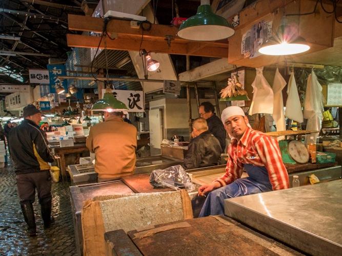 Tsukiji Fish Market 6