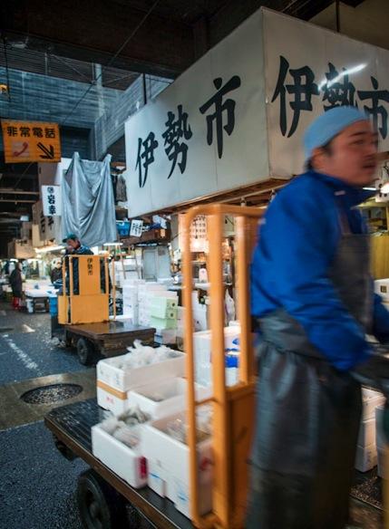Tsukiji Fish Market 9
