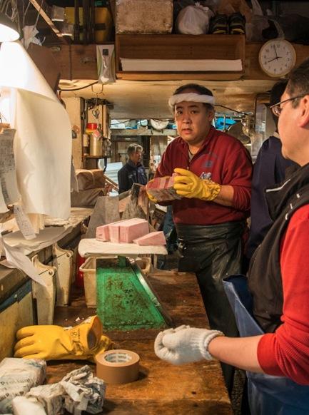 Tuna at Tsukiji FIsh Market 15