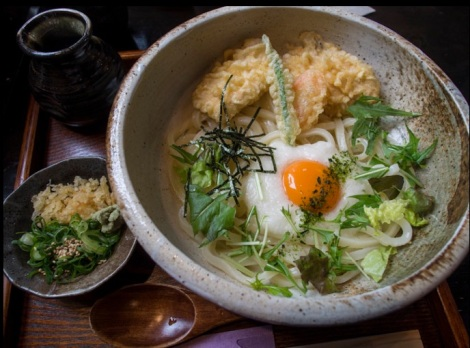 Udon in Kyoto