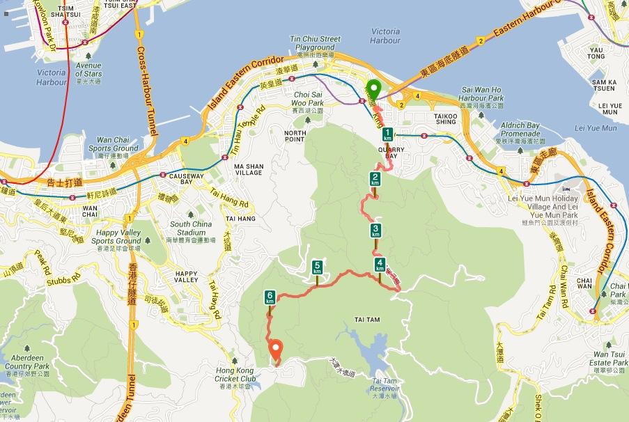 Favourite Night Hikes On Hong Kong Island Bluebalu Living In Hong Kong