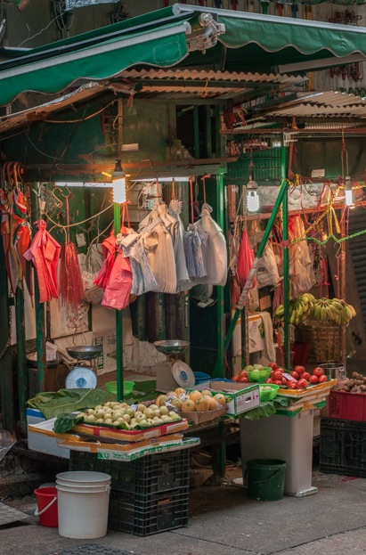 quintessentially HK 5 - market in central