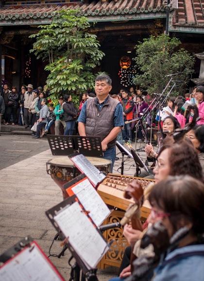 Baoan Temple 3 Musicians