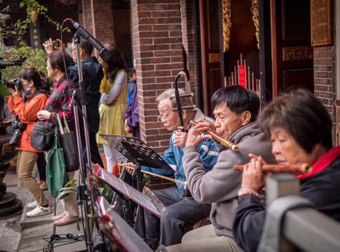 Baoan Temple 4 Musicians