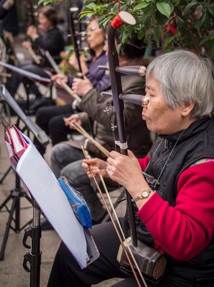 Baoan Temple 5 Musicians