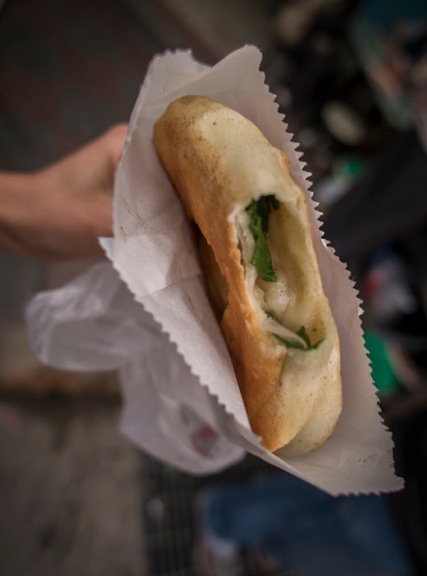 Daolong Night Market 2 Leek roll