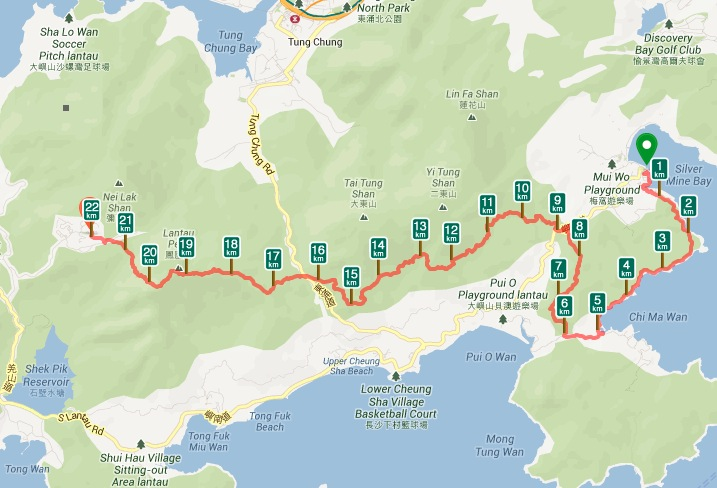 MoonTrekker with Lantau Peak training hike July 2013