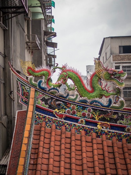 QIngshan Temple 6 Roof