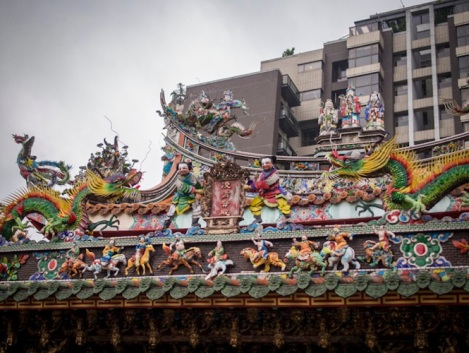 QIngshan Temple 8 Roof