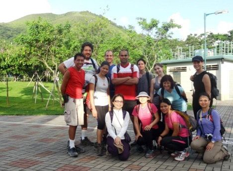 Sunny Bay to Disney Hike MeetUp Hong Kong 1