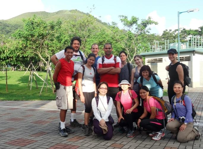 Sunny Bay to Disney Hike MeetUp Hong Kong 1