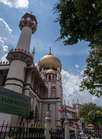 Arab Quarter in Singapore 11 Masjid Sultan