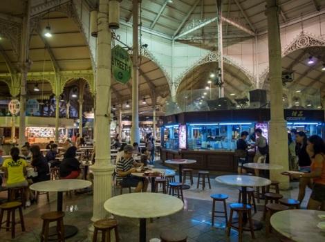 Lau Pa Sat Festival Market Singapore 2