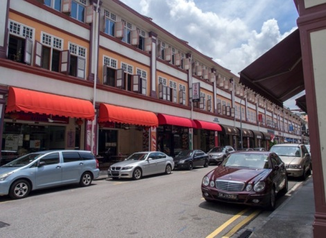 Shop houses in Singapore 1