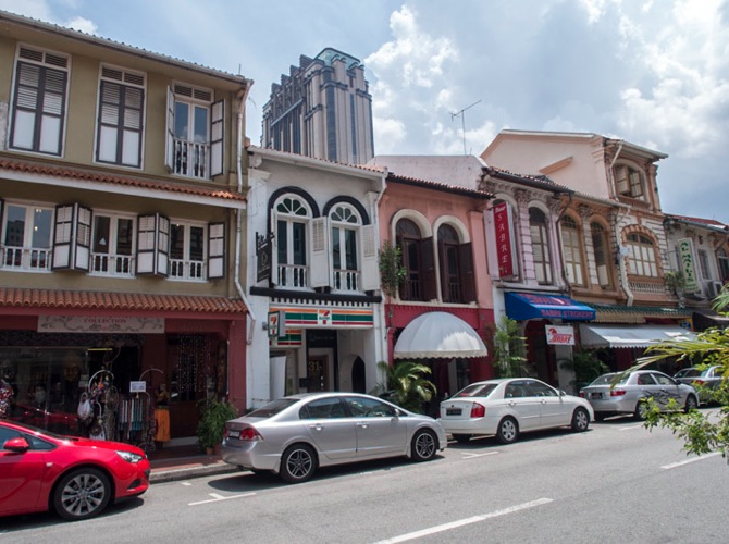 Shop houses in Singapore 2