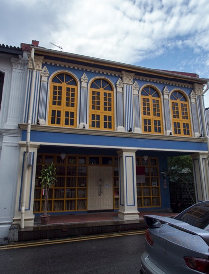 Shop houses in Singapore 3