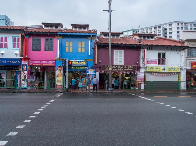 Shop houses in Singapore 4