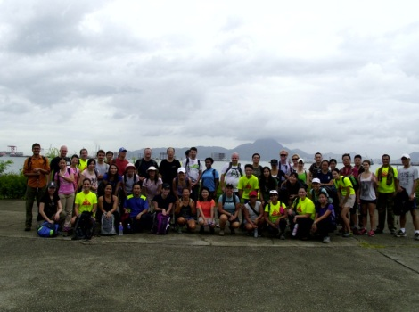 Tung Chung to Mui Wo Hike July 2013-1