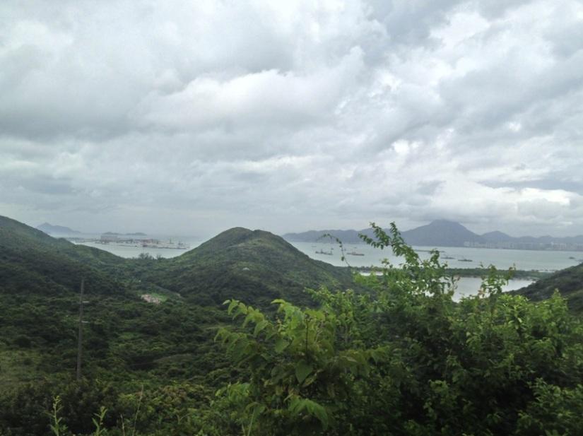 Tung Chung to Mui Wo Hike July 2013-3