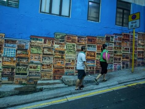 Graffiti in Sheung Wan 5
