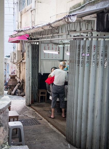 Hair dresser in Sheung Wan