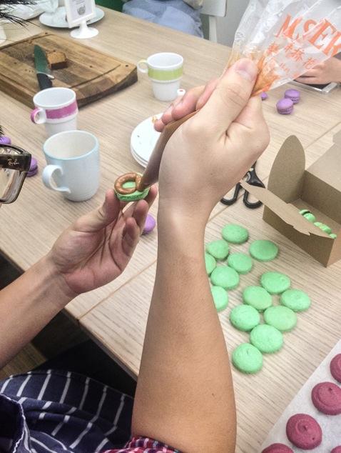 Mixing Bowl Macaron Class Hong Kong 10