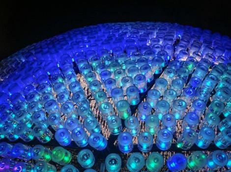 Rising Moon sculpture Lantern Festival Hong Kong 2013 2