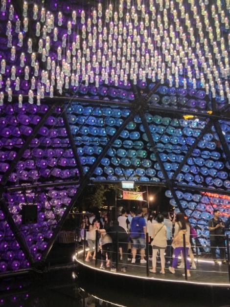 Rising Moon sculpture Lantern Festival Hong Kong 2013 6