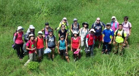 Shek Pik to Tai O Lantau Hike Hong Kong 6 Group in the Fort