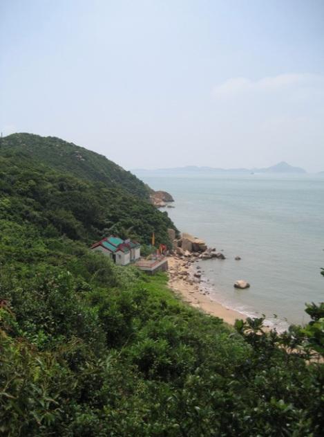 Shek Pik to Tai O Lantau Hike Hong Kong 7 Tin Hau Temple