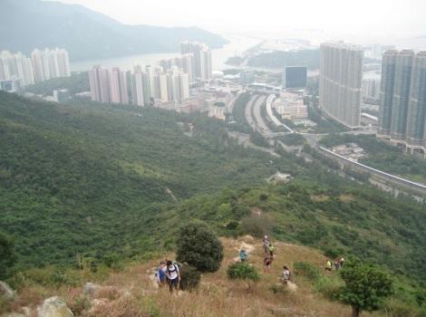 3 Peaks to Buddha Hike 1 Tung Chung