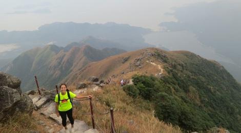 3 Peaks to Buddha Hike 17 Lantau Peak