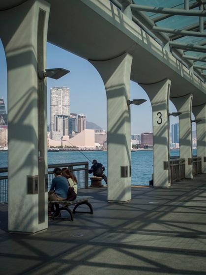 Public Ferry Pier Hong Kong 2