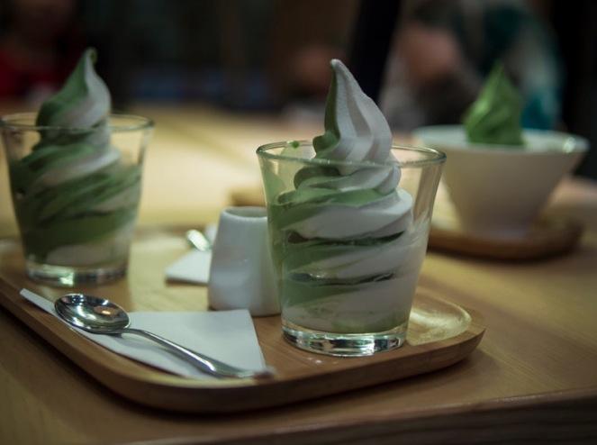 Via Tokyo Green Tea icecream 1