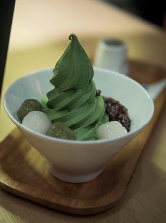 Via Tokyo Green Tea icecream 2
