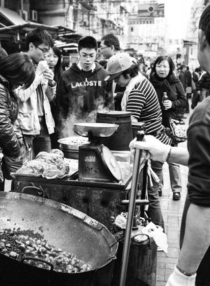 Hot Chestnuts in Sham Shui Po 2