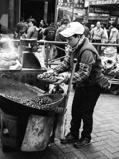 Hot Chestnuts in Sham Shui Po 3