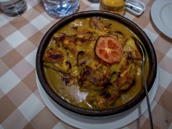Macau A Lorcha Portuguese lunch 2013-5