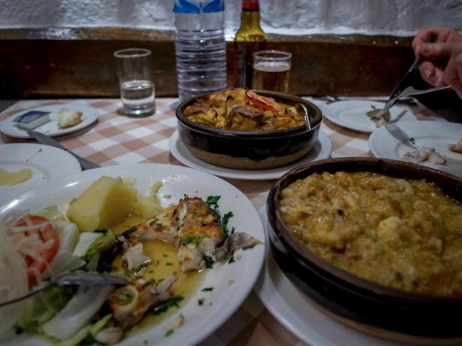 Macau A Lorcha Portuguese lunch 2013-6