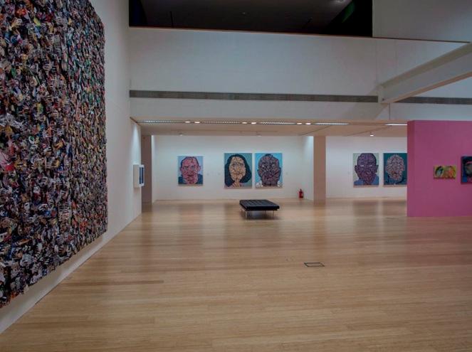 Macau Art Museum Yue Minjun exhibition 2013-5