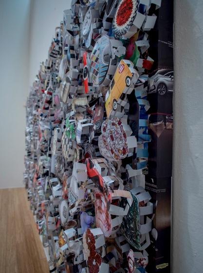 Macau Art Museum Yue Minjun exhibition 2013-7