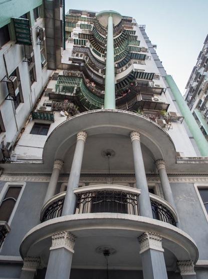 Walking through Macau Dec 2013 Houses 1