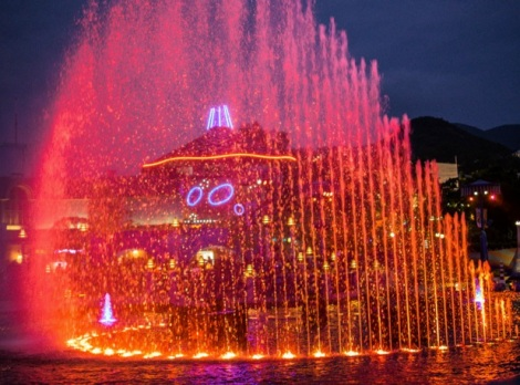 Ocean Park 2014-15 Symbian Water and Light Show