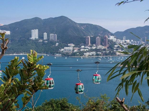 Ocean Park 2014-7 Cable Car
