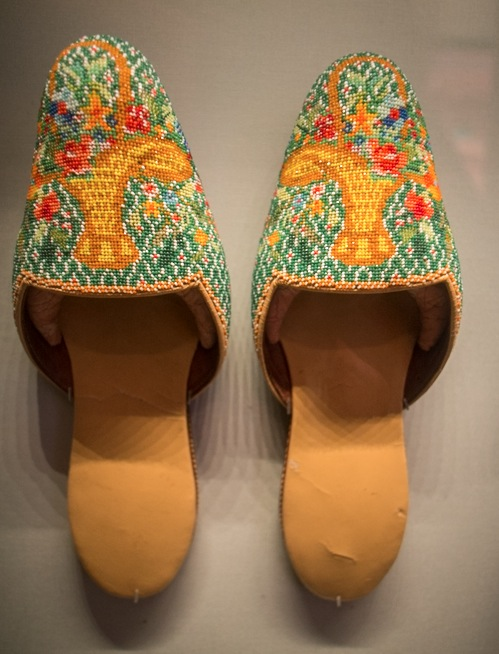 Perankan Museum Beaded Shoes 3