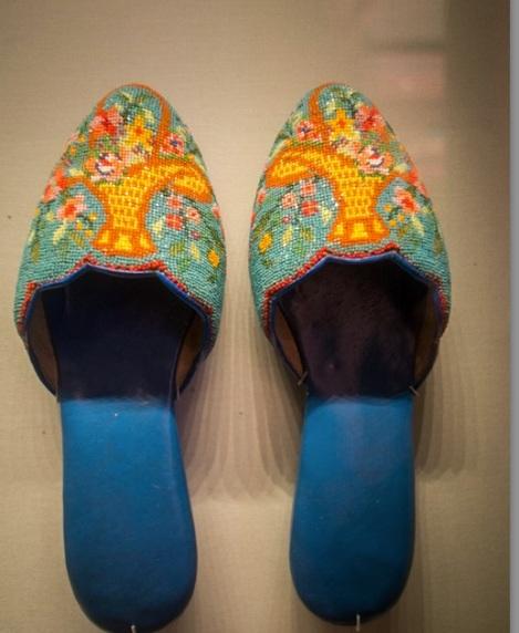 Perankan Museum Beaded Shoes 5
