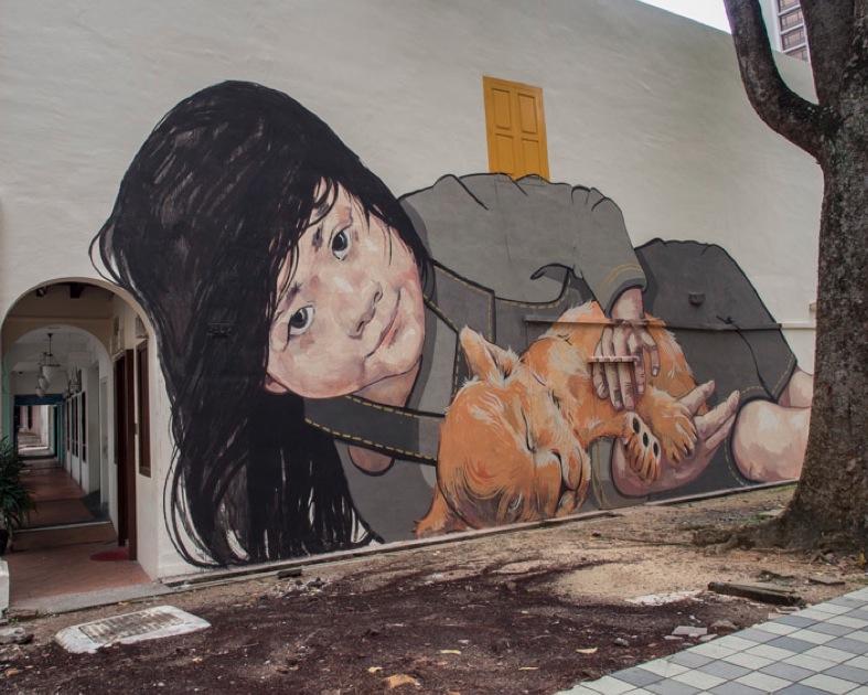 Singapore Arab Street Murals 1